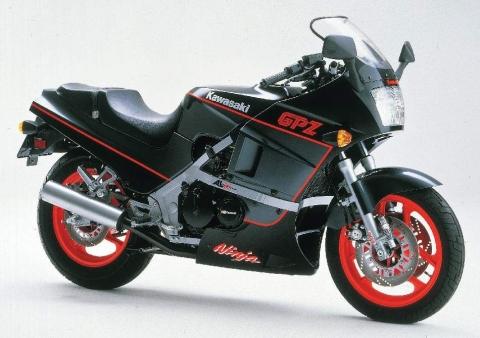 Kawasaki GPz 400R 86