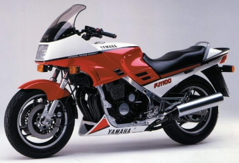 Yamaha FJ1100 84 6