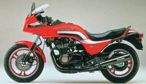 Kawasaki Z1100GP 83