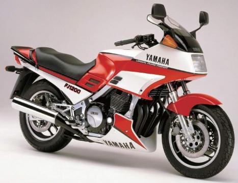 Yamaha FJ1200 86 4