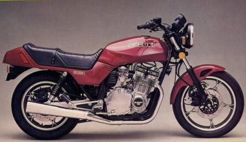 Suzuki GS 1100E 82