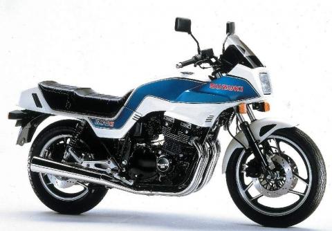 Suzuki GSX 1100ES 83