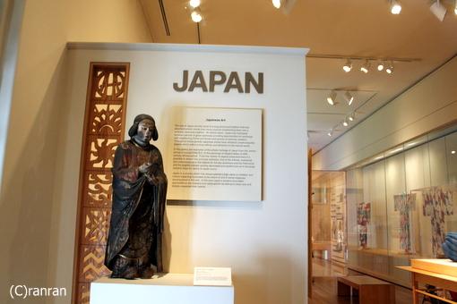 日本美術のコーナーも