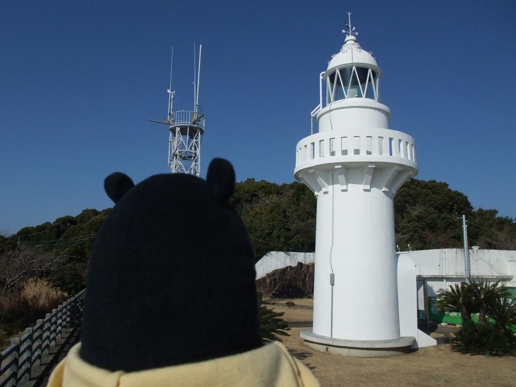 細島灯台とくまモン