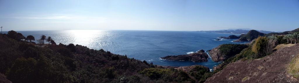 クルスの海宮崎日向岬十字のパノラマ