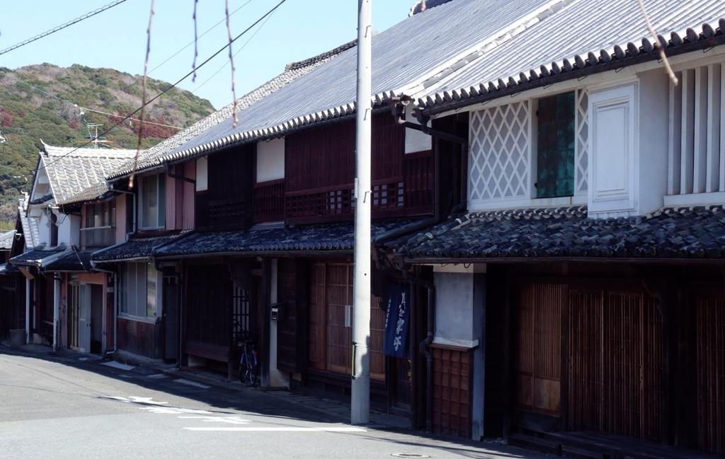 美々津の古い町並み