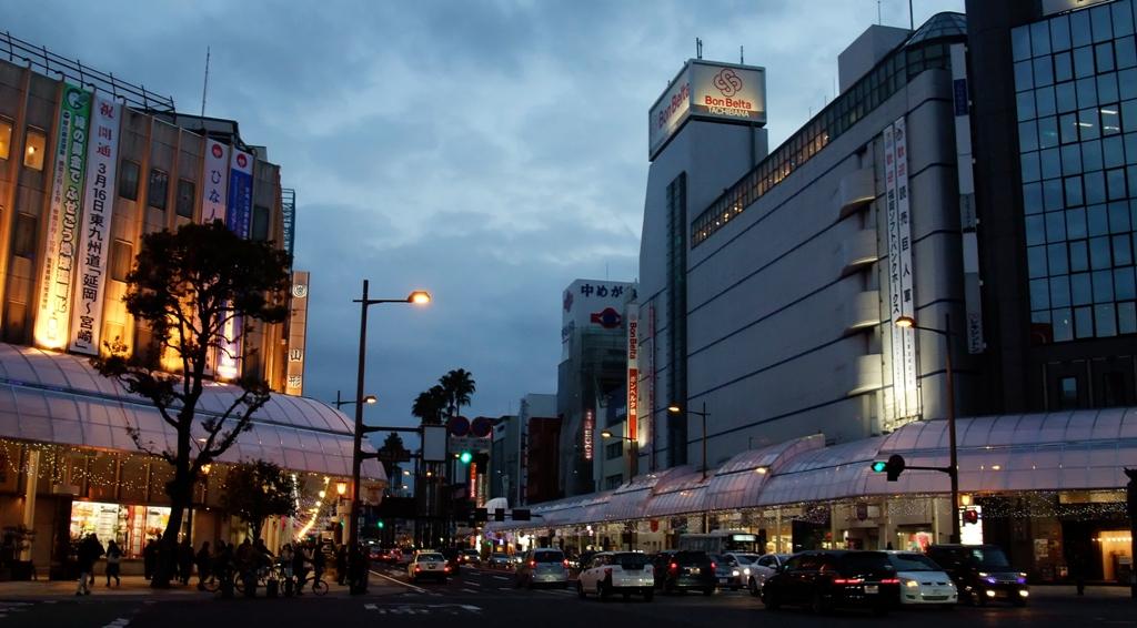 宮崎市中心街