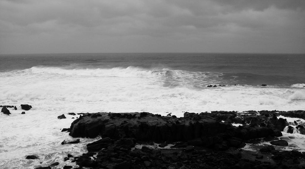 嵐の日南海岸