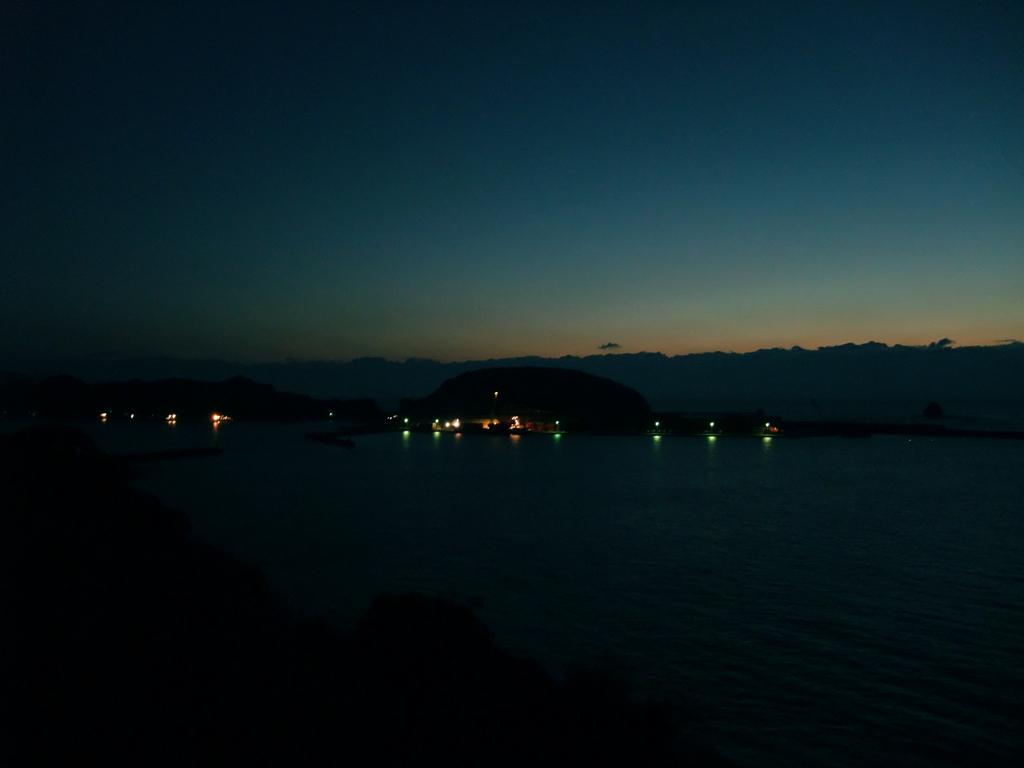 日南から都井岬めざし夜明け前の出発