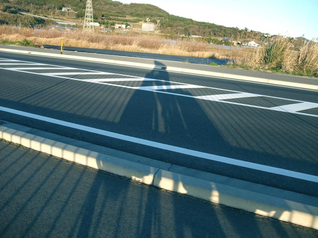 佐多街道の新道を抜ける