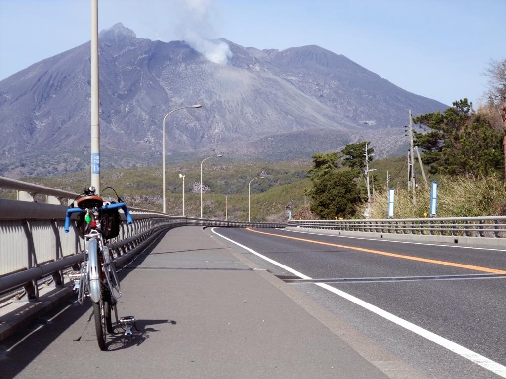 鹿児島のシンボル桜島へ