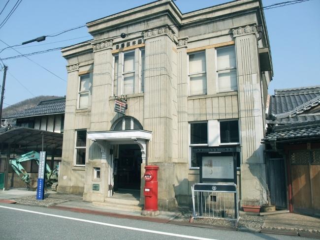 醒ヶ井郵便局レトロな郵便局