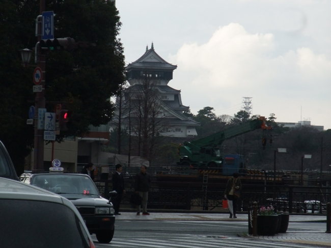 小倉城遠景
