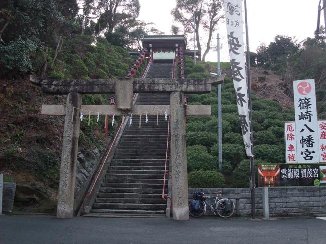 篠崎八幡宮という階段の印象的な神社
