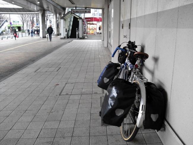 小倉駅自転車ランドナー