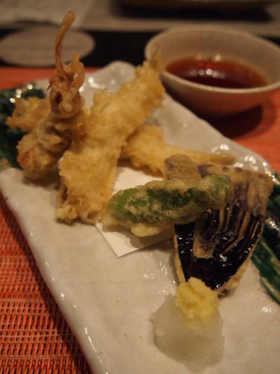 天ぷら(鰻菜詩)