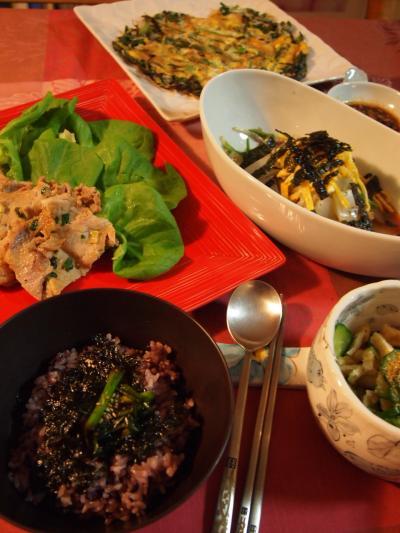 夕飯(2014年3月4日)