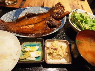 お魚定食(ゴラク)