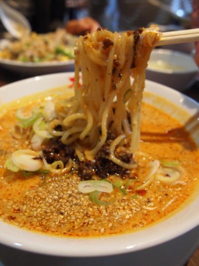 海老坦々麺(万豚記)