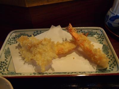 海老天ぷら(つな八)