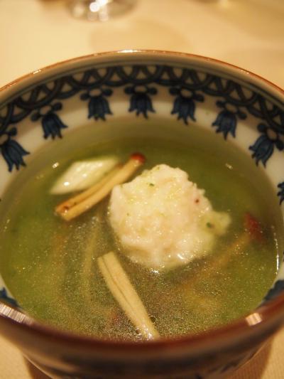 キュウリのスープ(ピャオシャン)