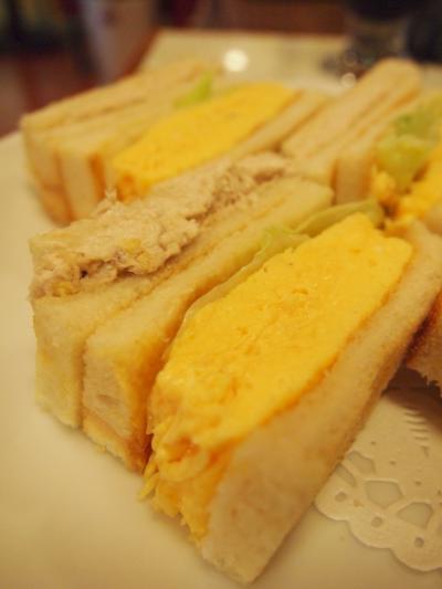 卵サンド(はまの屋)