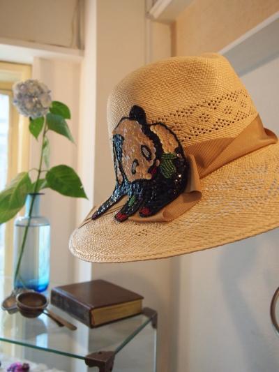 帽子(原田さん)