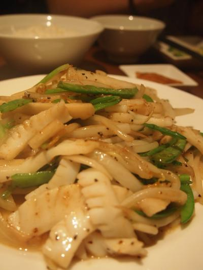 海鮮炒め(同源樓)