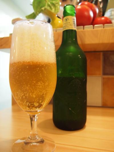 ビール(桃の実)