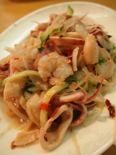 海鮮サラダ(タンヨージン)