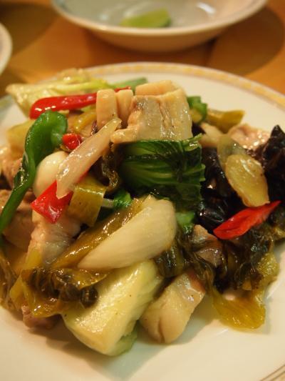 野菜炒め(タンヨージン)