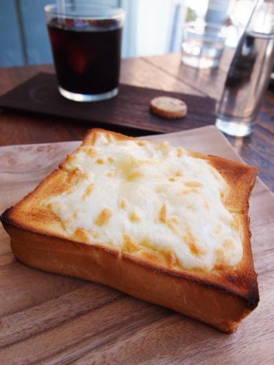 チーズトースト(横森珈琲)