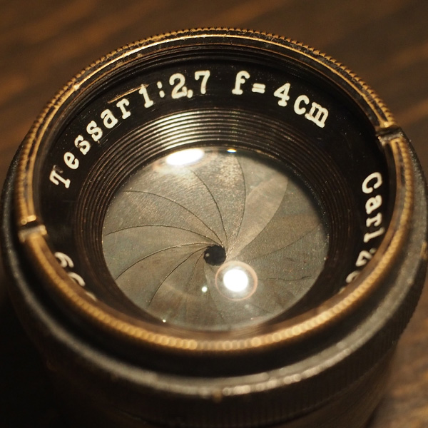 Carl Zeiss Tessar 4cm f2.7