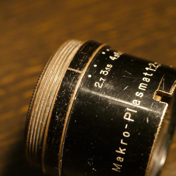 Hugo Meyer Makro Plasmat 2.6cm f2.7