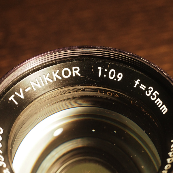 Nikon TV Nikkor 35mm f0.9