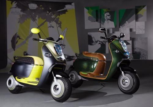 MINI Scooter E Concept 3