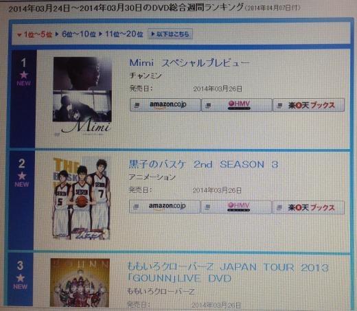 140401オリコン週間DVD