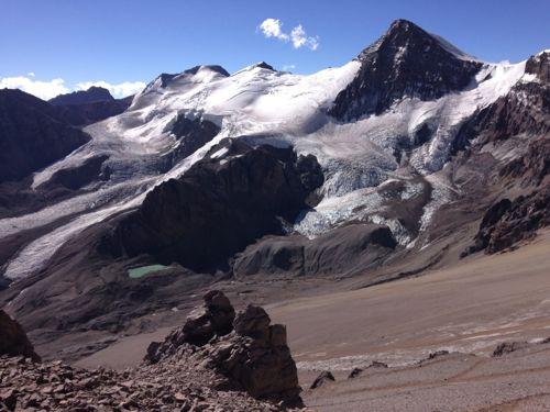 3対岸の氷河