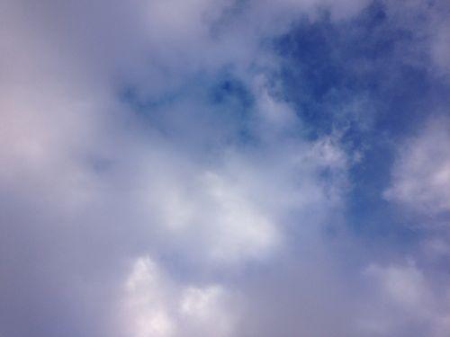 1下山の空