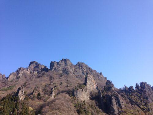 1妙義山は中之岳