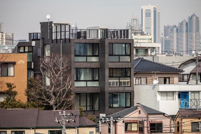 コーポラティブハウス下北沢外観写真1