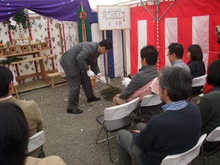 コーポラティブハウス:地鎮祭5