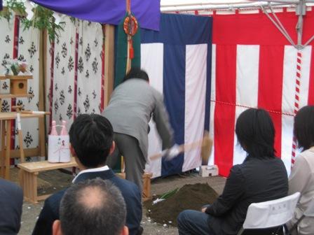 コーポラティブハウス:地鎮祭6