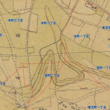 迅速測図国分寺丸山台
