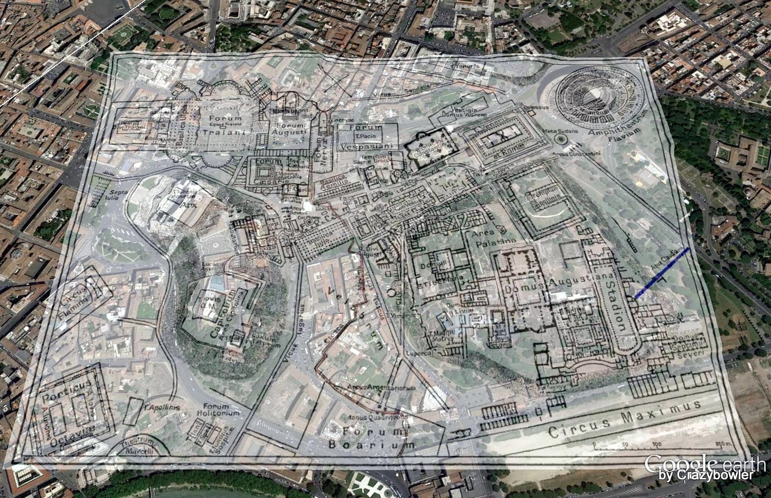 クロアカ・マキシマ on Google Earth