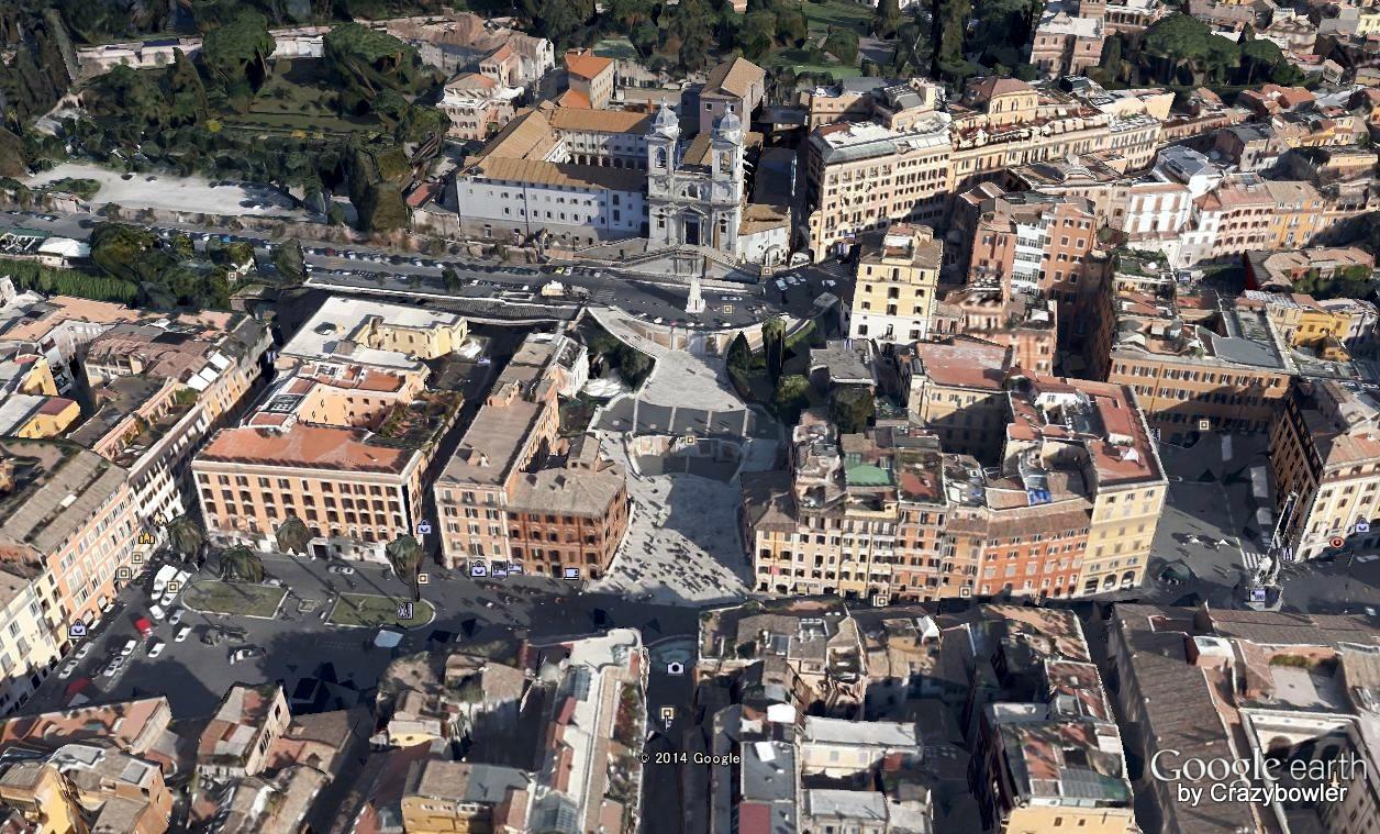 スペイン広場GoogleEarth-001