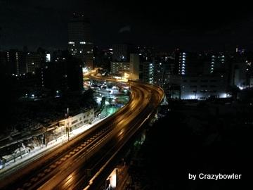 2014年2月9日深夜 雑司ヶ谷墓地