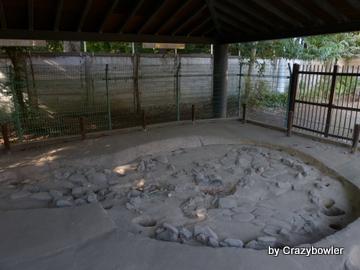 柄鏡形敷石住居跡
