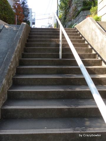 東京 西国分寺の坂