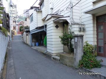 妙義神社から駒込駅へ(豊島区)